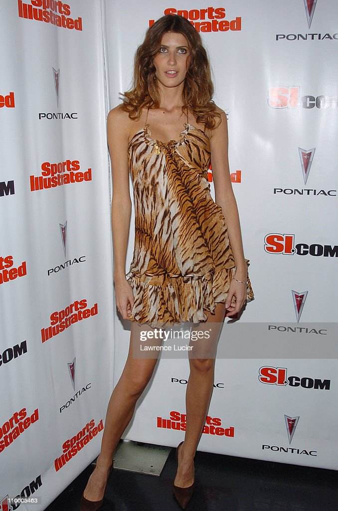 Michelle Alves during Sports Illustrated 2005 Swimsuit Issue - Press Conference at AER Lounge in New York City, New York, United States.