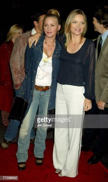 Michelle and daughter Dee Dee Pfeiffer