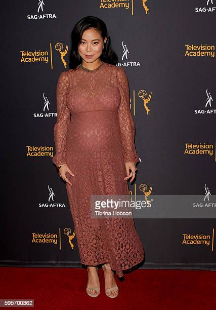 Michelle Ang attends the Television Academy and SAGAFTRA's 4th annual Dynamic and Diverse Celebration at Saban Media Center on August 24 2016 in...