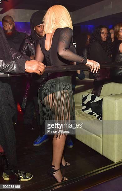 K Michelle attends Prive on January 16 2016 in Atlanta Georgia