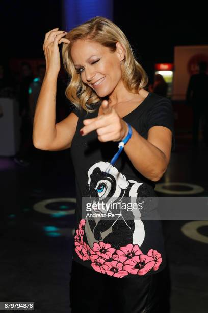 Michelle attends the after show party during the finals of the tv competition 'Deutschland sucht den Superstar' at Coloneum on May 6 2017 in Cologne...