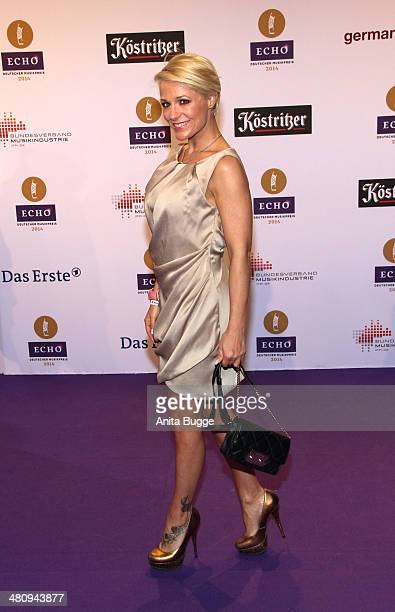 Michelle attends the 'Echo Award 2014' on March 27 2014 in Berlin Germany