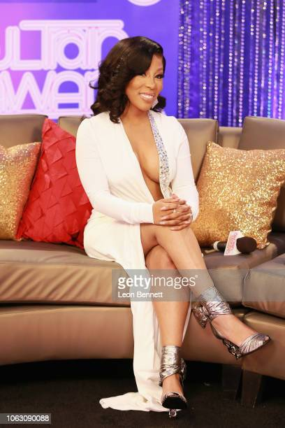 K Michelle attends the Post Show for the 2018 Soul Train Awards presented by BET at the Orleans Arena on November 17 2018 in Las Vegas Nevada