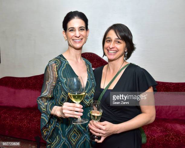 Michelle Babu and Christian Sciaudone attend 'The Initiation' Book Launch at Bouley TK on March 15 2018 in New York City