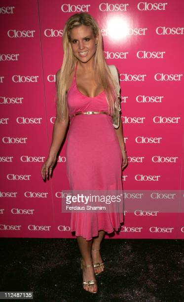 Michelle Bass during Closer 4th Birthday Party in London Great Britain