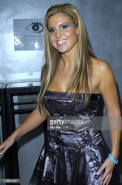 Michelle Bass during Craig Coates 21st Birthday Party at Zeta Bar in London Great Britain