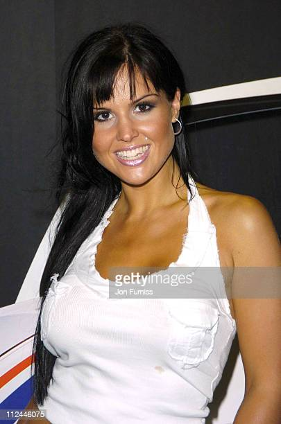 Michelle Bass during Herbie Fully Loaded London Premiere Inside Arrivals at Vue West End in London Great Britain