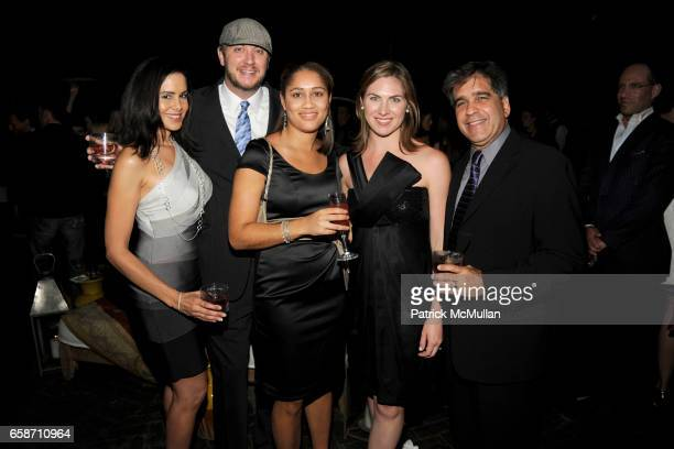 Michelle Beauchamp Matthew Slosek Erin Mitchell Christina McDowell and Celio Romanach attend THE CINEMA SOCIETY NOILLY PRAT host the after party for...