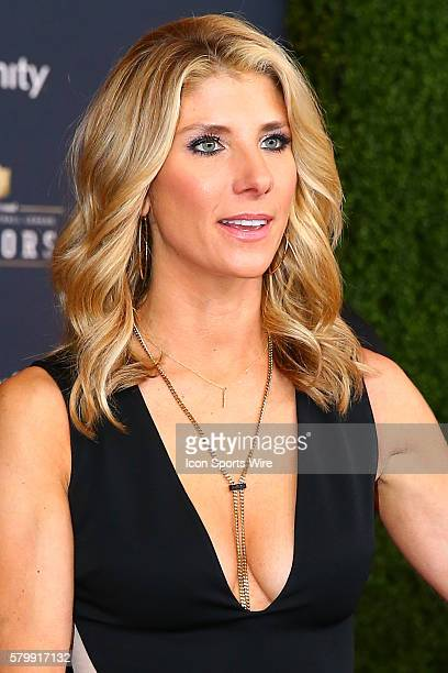 Michelle Beisner on the Red Carpet at the 4th Annual NFL Honors being held at Symphony Hall in the Phoenix Convention Center in Phoenix Arizona
