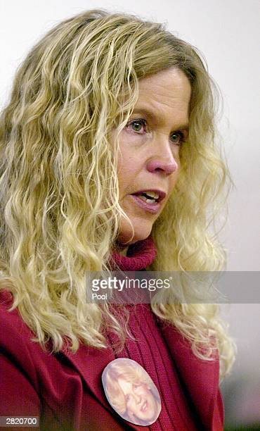 Michelle Blair sister of Green River Killer victim Gisele A Lovvorn speaks at the sentencing of Gary Ridgway in King County Washington Superior Court...