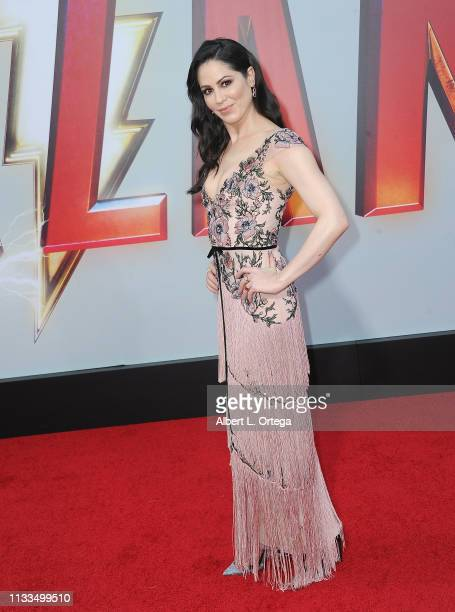 Michelle Borth arrives for the Warner Bros Pictures And New Line Cinema's World Premiere Of SHAZAM held at TCL Chinese Theatre on March 28 2019 in...