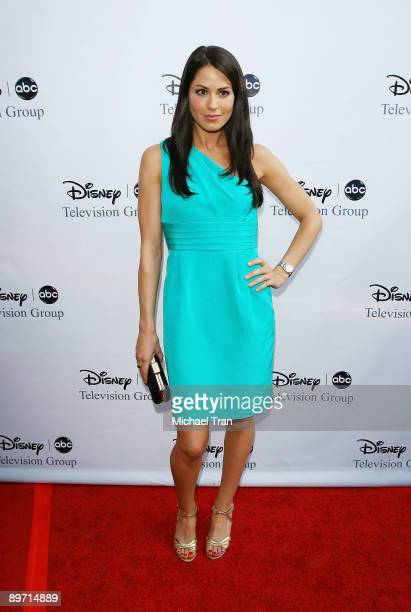 Michelle Borth arrives to the 2009 Disney-ABC Television Group Summer TCA Tour held at The Langham Resort on August 8, 2009 in Pasadena, California.