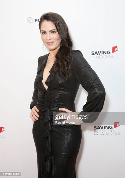 Michelle Borth attends the 7th Annual Saving Innocence Gala, An Organization Working To Combat Child Sex-Trafficking held at the Lowes Hollywood...