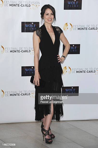 Michelle Borth attends the Dick Wolf party during the 52nd Monte Carlo TV Festival on June 12 2012 in MonteCarlo Monaco