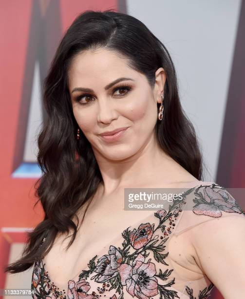 "Michelle Borth attends Warner Bros. Pictures And New Line Cinema's World Premiere Of ""SHAZAM!"" at TCL Chinese Theatre on March 28, 2019 in Hollywood,..."