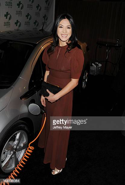 Michelle Branch arrives at Global Green USA's 10th Annual PreOscar party at Avalon on February 20 2013 in Hollywood California