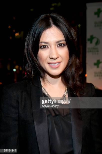 Michelle Branch attends the Global Green Hosts Gorgeous & Green Gala at Bentley Reserve on December 6, 2011 in San Francisco, California.