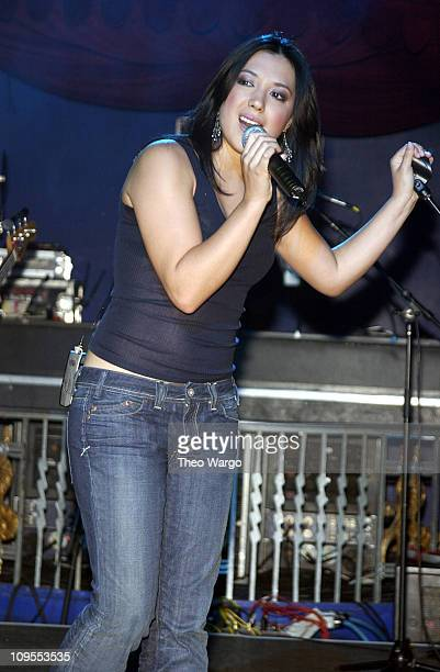 Michelle Branch Band during DKNY Jeans Presents Rock the Cure Benefit Concert for Juvenile Diabetes Research Foundation at The Supper Club in New...