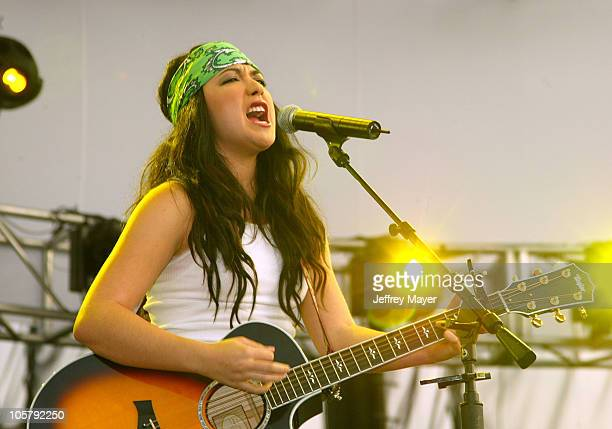 Michelle Branch during 102.7 KIIS FM's Wango Tango 2003 - The Ultimate Reality Show at Rose Bowl Stadium in Pasadena, California, United States.