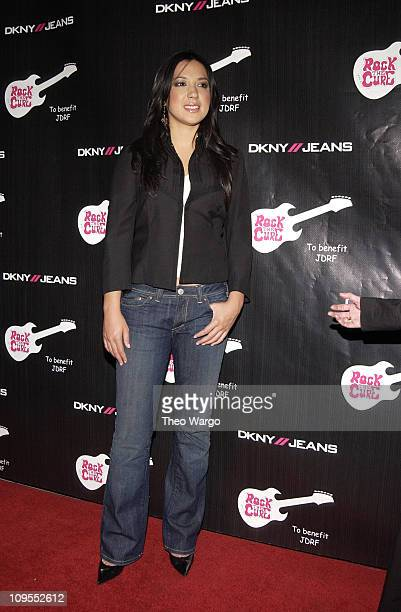 Michelle Branch during DKNY Jeans Presents Rock the Cure Benefit Concert for Juvenile Diabetes Research Foundation at The Supper Club in New York...