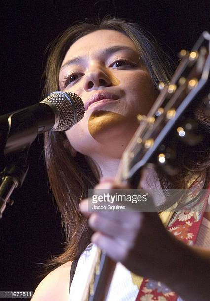 Michelle Branch during Michelle Branch performs live at the University of Missouri on September 18 2002 at Hearnes Center in Columbia Missouri United...