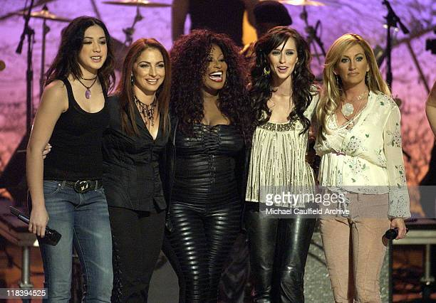Michelle Branch Gloria Estefan Chaka Khan Jennifer Love Hewitt and Lee Ann Womack at 'Women Rock Girls and Guitars' airing on the Lifetime Television...