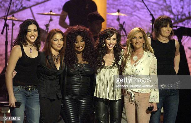Michelle Branch Gloria Estefan Chaka Khan Jennifer Love Hewitt Lee Ann Womack and Chrissie Hynde at Women Rock Girls and Guitars airing on the...