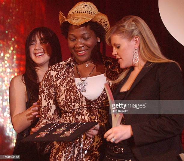 Michelle Branch Jehmu Greene and Natalie Maines during The 11th Annual Rock the Vote Awards Show and After Party at The Palladium in Hollywood...