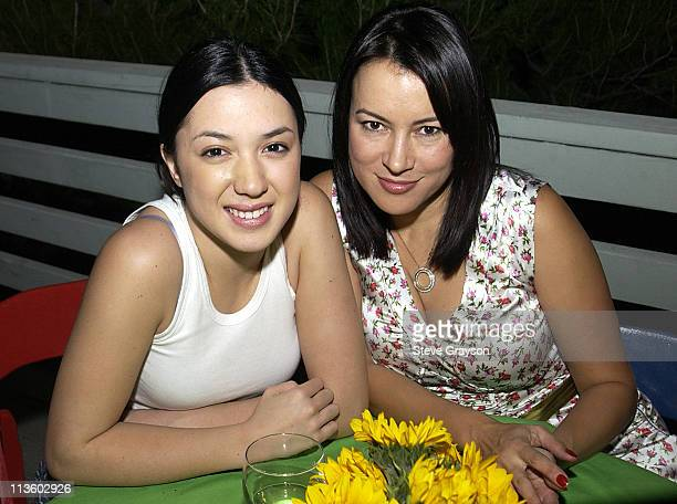 Michelle Branch Jennifer Tilly during Do It eBay Holiday Cocktail Party Los Angeles at Private Residence in Sherman Oaks California United States