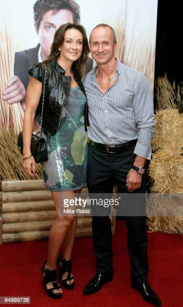 Michelle Bridges and Bill Moore attend the Australian premiere of 'Did You Hear About The Morgans' at Event Cinemas George Street on December 22 2009...