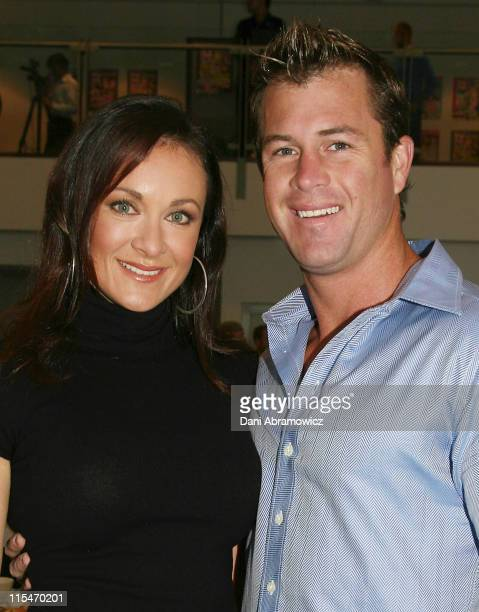Michelle Bridges and Shannan Ponton during 2007 TV WEEK Logie Awards Nominations Media Call at The Crystal Ballroom Luna Park in Sydney NSW Australia