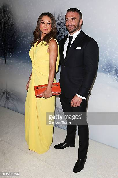 Michelle Bridges and Steve Willis arrive at the 2013 Instyle and Audi Women of Style Awards at Carriageworks on May 14 2013 in Sydney Australia
