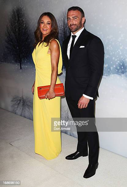 Michelle Bridges and Steve Willis arrive for the 2013 Instyle and Audi Women of Style Awards at Carriageworks on May 14 2013 in Sydney Australia