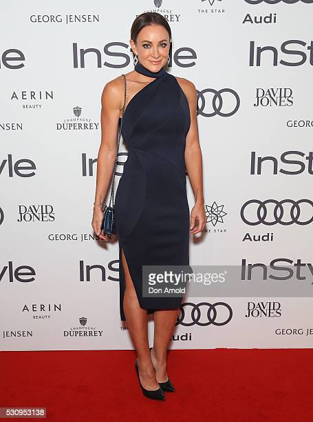 Michelle Bridges arrives ahead InStyle and Audi Women of Style Awards at The Star on May 12 2016 in Sydney Australia