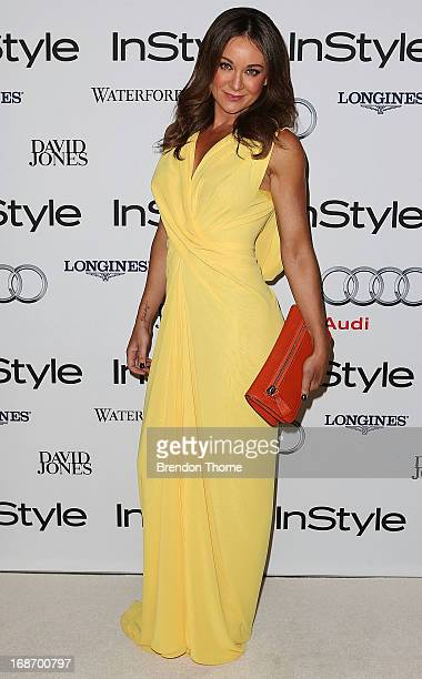 Michelle Bridges arrives at the 2013 Instyle and Audi Women of Style Awards at Carriageworks on May 14 2013 in Sydney Australia