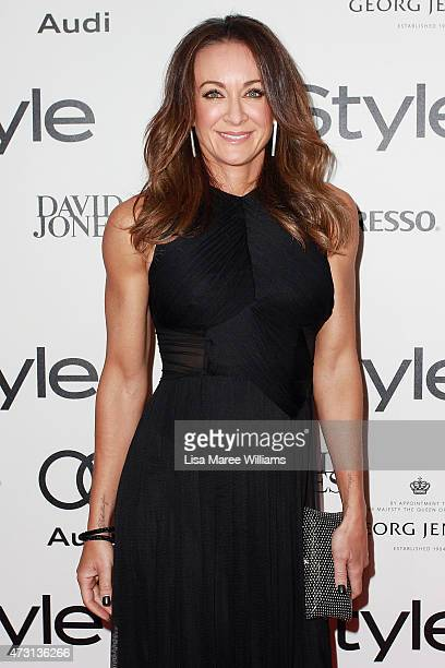 Michelle Bridges arrives at the 2015 Women of Style Awards at Carriageworks on May 13 2015 in Sydney Australia