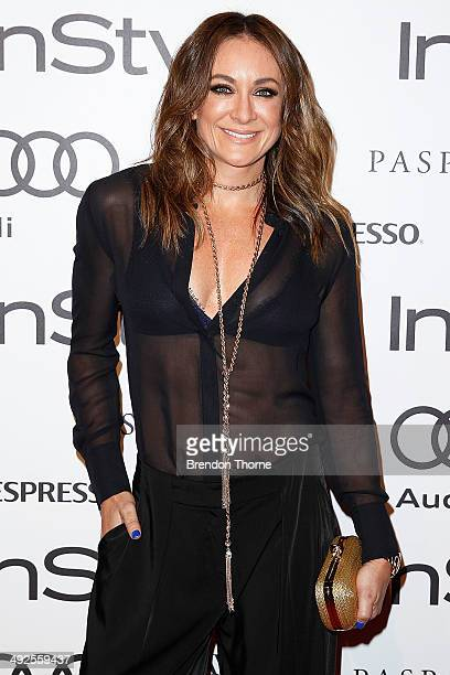 Michelle Bridges arrives at the Instyle and Audi Women of Style Awards on May 21 2014 in Sydney Australia