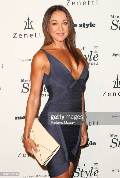 Michelle Bridges arrives at the Men's Style 10th Birthday Party at The Ivy on September 10 2013 in Sydney Australia