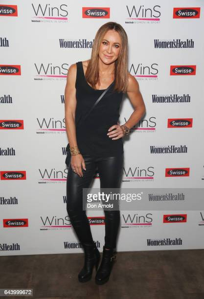 Michelle Bridges attends a Women's Health WinS Speed Mentoring event on February 23 2017 in Sydney Australia