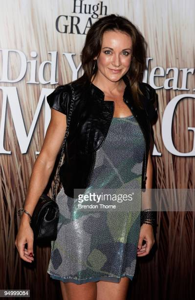 Michelle Bridges attends the Australian premiere of Did You Hear About The Morgans at Event Cinemas George Street on December 22 2009 in Sydney...