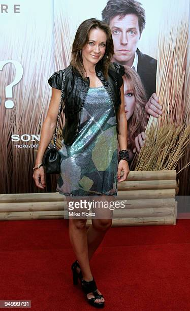 Michelle Bridges attends the Australian premiere of 'Did You Hear About The Morgans' at Event Cinemas George Street on December 22 2009 in Sydney...