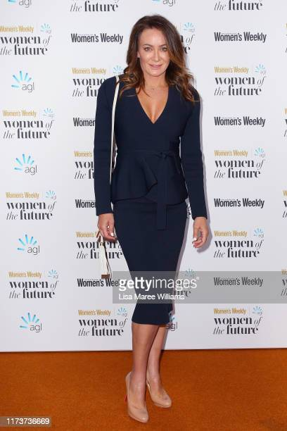 Michelle Bridges attends the Women of The Future Awards on September 11 2019 in Sydney Australia
