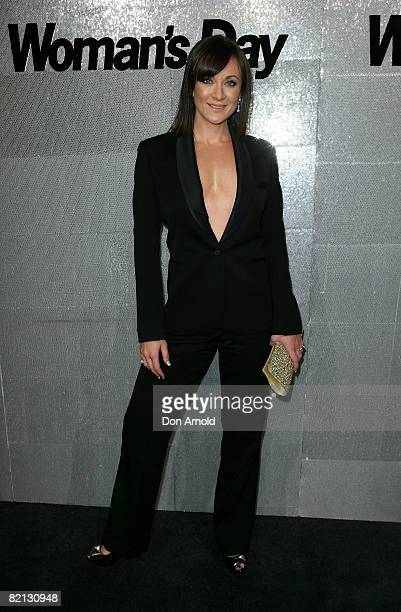 Michelle Bridges attends the Women's Day 60th Anniversary Celebrations at the Glass Brasserie on July 31 2008 in Sydney Australia