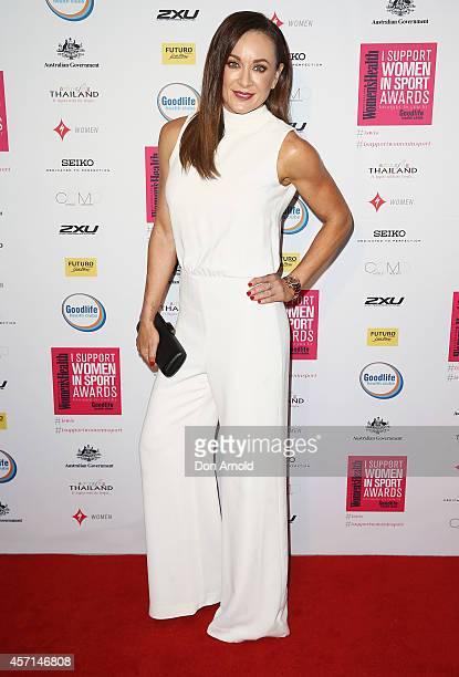 Michelle Bridges attends the Women's Health 'I Support Women In Sport' Awards at The Establishment on October 13 2014 in Sydney Australia