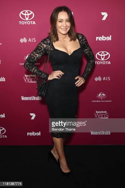 Michelle Bridges attends the Women's Health 'Women In Sport' Awards on October 16 2019 in Sydney Australia