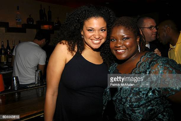 Michelle Buteau and Shelley Wade attend Paris Hilton Album Release Party at Marquee on August 16 2006