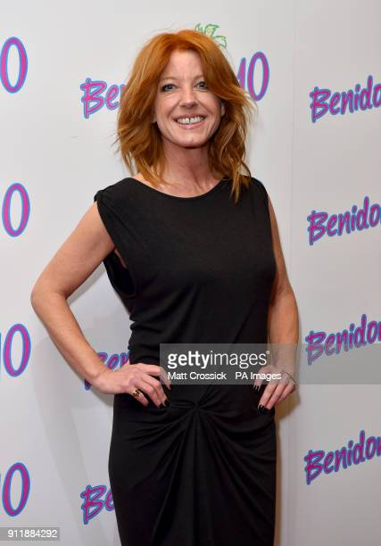 Michelle Butterly during the Benidorm Is 10 event held at the Mayfair Curzon London Picture date Monday January 29 2018 Photo credit should read Matt...