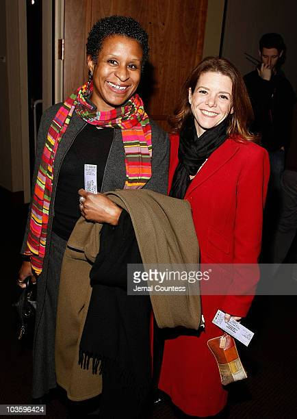 Michelle Byrd attends the 2nd Annual Adrienne Shelly Foundation Fundraising Gala at the Skirball Center at New York University on November 17 2008 in...