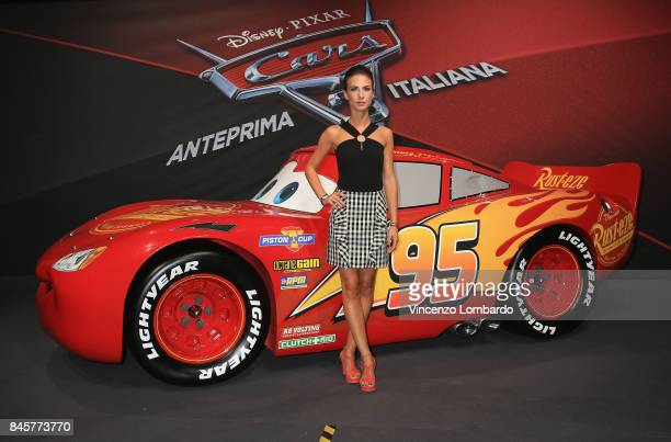 Michelle Carpente attends Cars 3 photocall in Milan on September 11 2017 in Milan Italy
