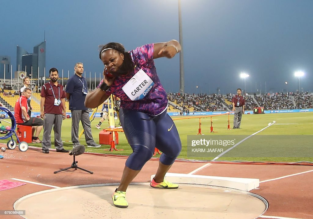 ATHLETICS-QAT-DIAMOND : News Photo